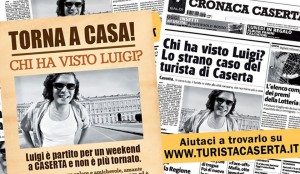 Luigi Turista Caserta, web marketing turistico