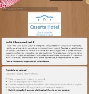 Turista Caserta