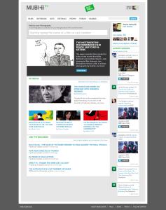 mubi homepage
